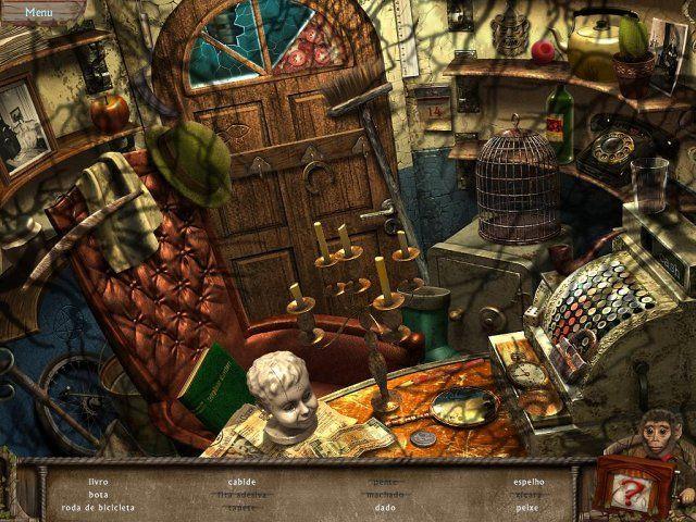 Weird Park O Disco Quebrado - screenshot do jogo 1 #jogo #jogos