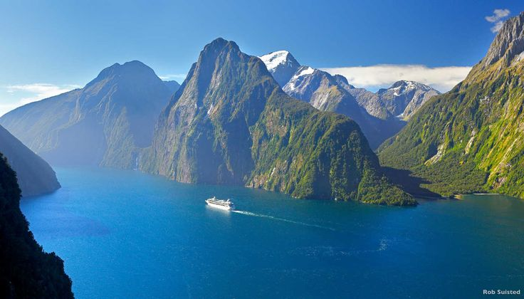 Milford Sound, New Zealand. Holidays with Kids destinations to touch your soul
