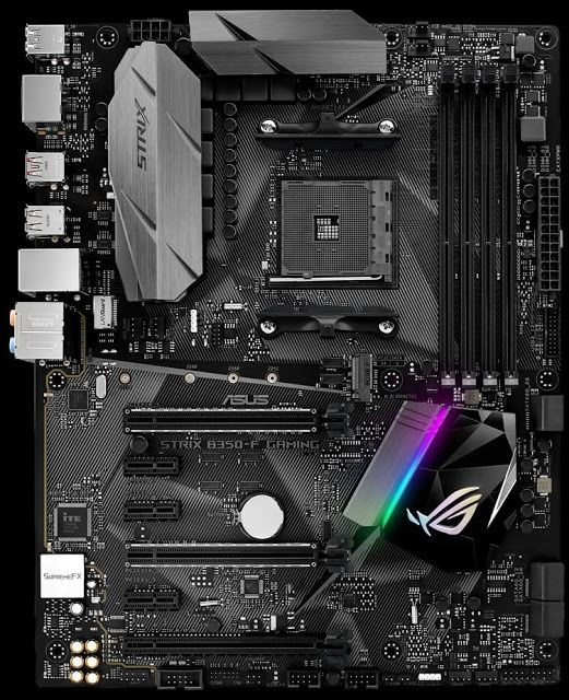 Informática Sin Limites: Asus ROG Strix B350-F Gaming: Placa base gaming