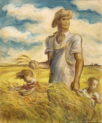 John Steuart Curry (1897-1946) Our Good Earth, 1941