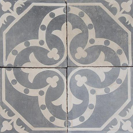 antique cement tiles for the kitchen