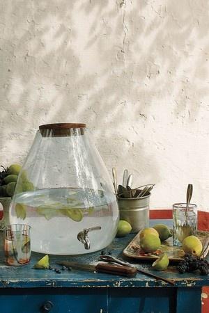 AnthropologieBubbled Beverage Dispenser - Water Saver Bottle