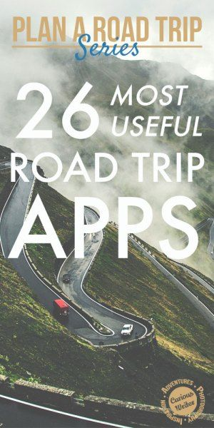 "26 Most Useful Apps for a Road Trip - Curious Writer.   Here are some apps to help bring out the inner ""techie"" in all of us while on your road trip. Have an idea of your route? Email me at Deb@VacationsByDeb.com or call me at 877-331-5078 to book your vacation."