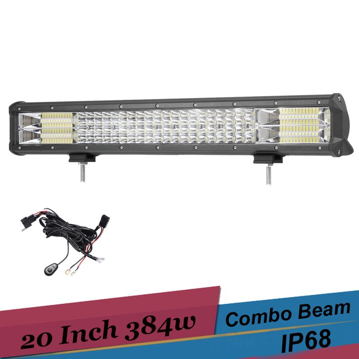 Compare Discount 384W 20'' LED Light Bar SUV Truck Tractor 4x4 4WD Trailer 20 Inch Spot Flood Combo Offroad LED Lights Driving Led Bar 12V 24V #384W #20'' #Light #Truck #Tractor #Trailer #Inch #Spot #Flood #Combo #Offroad #Lights #Driving