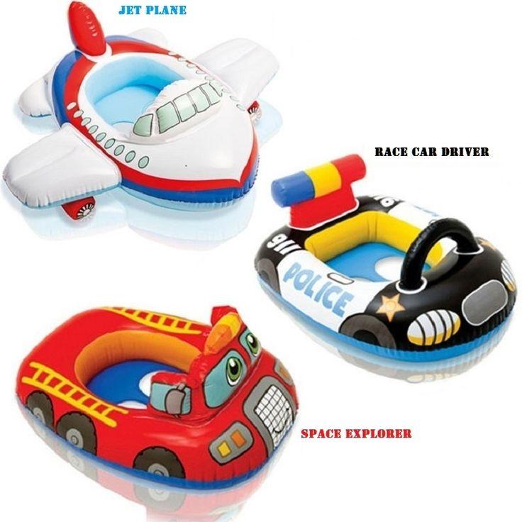 面白い形状インフレータブルプールフロート赤ちゃん水泳リング赤ちゃんフロートシート用浮くためのスイミングプールベビースイミングアクセサリー