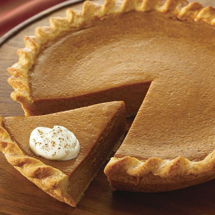 The reviews are in -- everyone is raving about this fabulously easy pumpkin pie. Make the pie even more festive by serving it with Vanilla Whipped Cream.