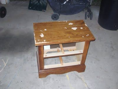 How to paint furniture made from particle board.  Definitely going to do this to Mia's dresser