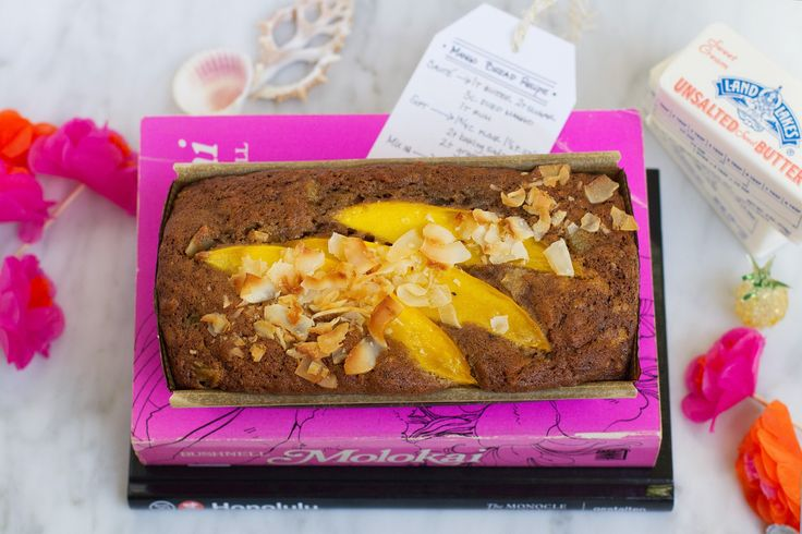 Pay Forward Some Travel Inspiration: Coconut Brown Butter Mango Bread | saltandwind.com