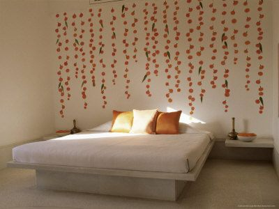 16 bedroom wall decor ideas using patterned fabric and styrofoam ome speak