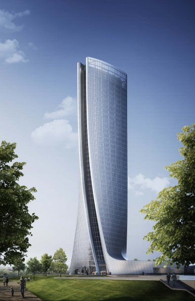 CityLife Milano Office Tower - Architecture - Zaha Hadid Architects