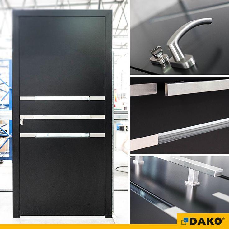 drzwi aluminiowe model ALBA drzwi zewnętrzne drzwi wejściowe