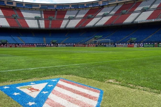 Atlético de Madrid Football Stadium Tour and Museum Ticket Head inside Madrid's Vicente Calderón Stadium with an entrance ticket, and learn all about Atlético de Madrid football (soccer) team on a stadium tour. With a local guide, visit sites such as the changing rooms, pitch, VIP box and press room, and learn about the football club's history. The entrance ticket also includes access to the stadium museum, home to some 1,000 soccer artifacts. See trophies, shirts, old season ...