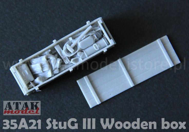 35A21 StuG III Wooden Box