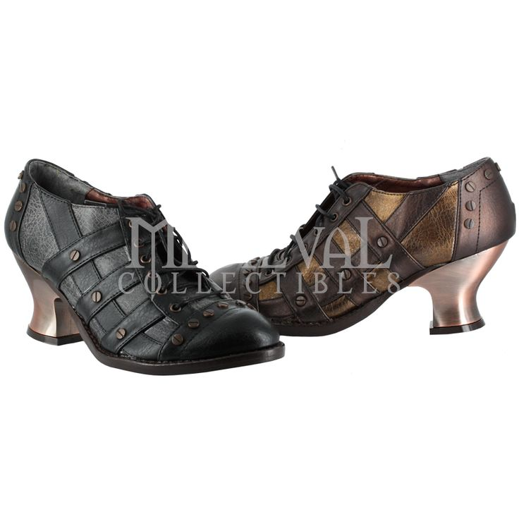 Lady Jade Steampunk Shoes - FW3010 by Medieval Collectibles