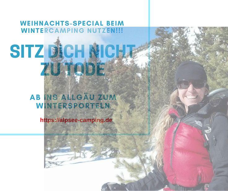 Wintercamping im Allgäu https://alpsee-camping.de #wintercamping #allgäu #oberallgäu #immenstadt #alpsee #oberstaufen #oberstdorf #alpen #camperlife #schneeschuhwandern #langlauf #skiing #Winter #Wintersport