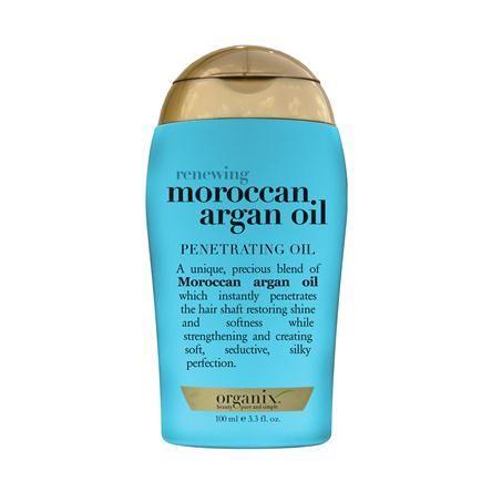Organix Moroccan Argan Oil, love this stuff! Does wonders for my hair! ♥♥♥