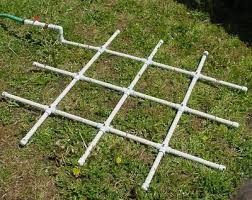 Tuinsproeier van pvc pijpen, doe het zelf #irrigatie systeem.