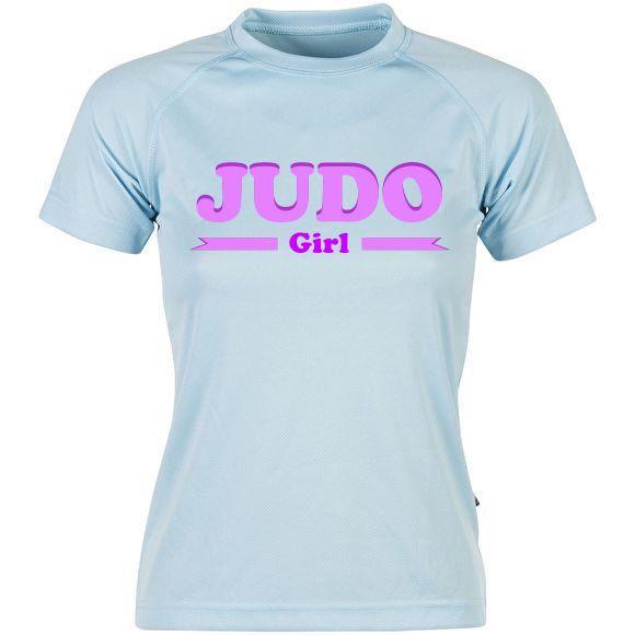 T-shirt femme JUDO GIRL TM-6100