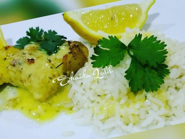 Lemon  butter kingklip