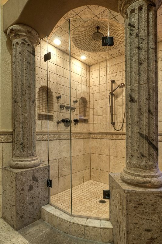 1000 images about a roman style master bathroom on pinterest travertine vanity cabinet and. Black Bedroom Furniture Sets. Home Design Ideas