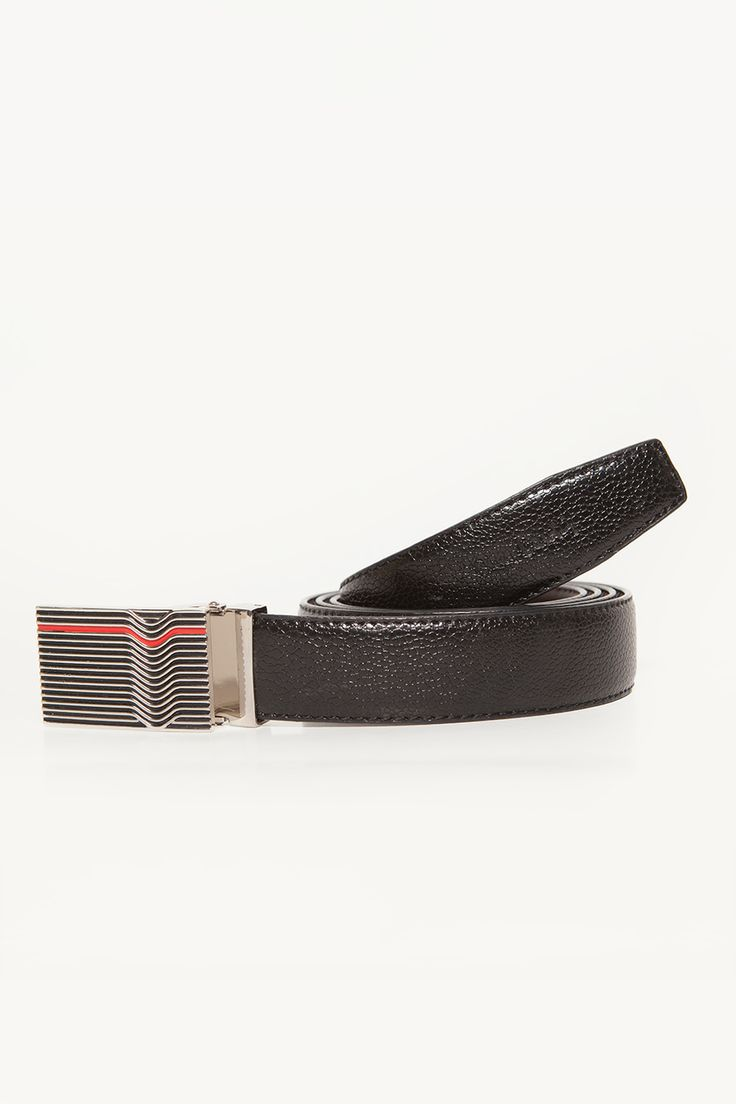 Red Stripes Belt