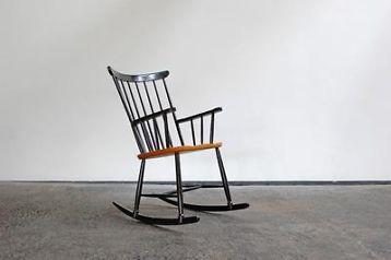 ≥ jaren '60 schommelstoel Pastoe - Kunst | Designobjecten - Marktplaats.nl