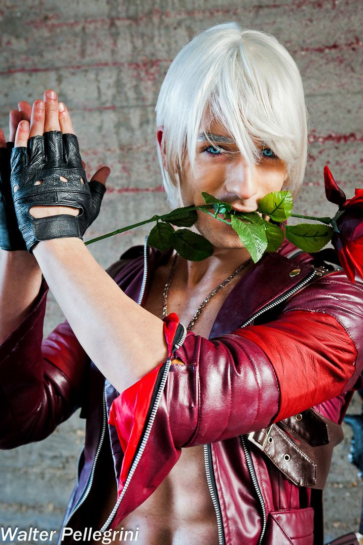 A Rose For You - Dante Cosplay by Leon Chiro by ~LeonChiroCosplayArt on deviantART