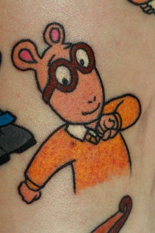 21 Epically Nostalgic '90s Cartoons As Tattoos | Cartoon
