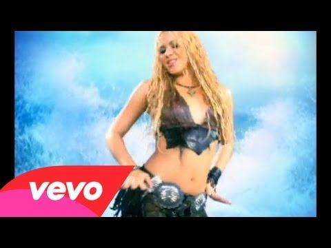 Another good one!  Music video by Shakira performing Whenever, Wherever. YouTube view counts pre-VEVO: 182,684 (C) 2001 Sony Music Entertainment (Holland) B.V.