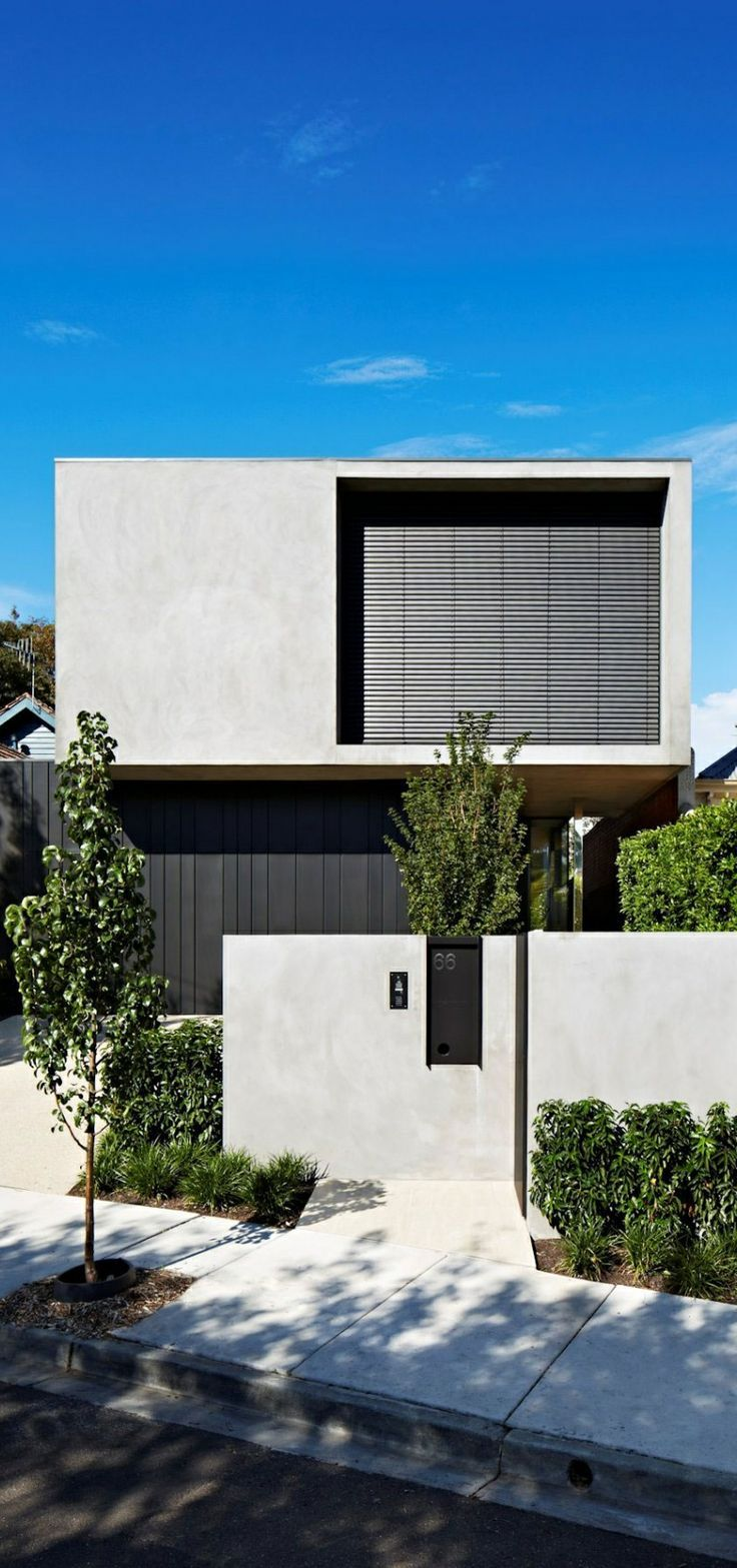 See how one small contemporary house can truly break monotony and boringness of traditional architecture and
