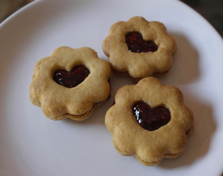 Raspberry Cookies :3