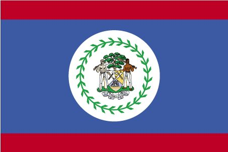 Country Flags: Belize Flag