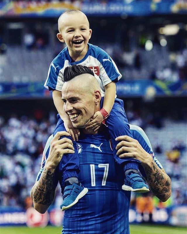 Lucas e Marek! #euro2016 #germaniaslovacchia #forzanapolisempre #hamsik #slovakiateam