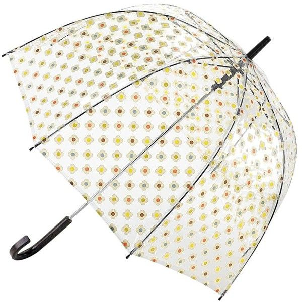 Orla Kiely Vinyl Floral Birdcage Umbrella, Multi (1.735 RUB) ❤ liked on Polyvore featuring accessories, umbrellas, other, orla kiely umbrella, dome umbrella, dome shaped umbrella, wind resistant umbrella and floral print umbrella