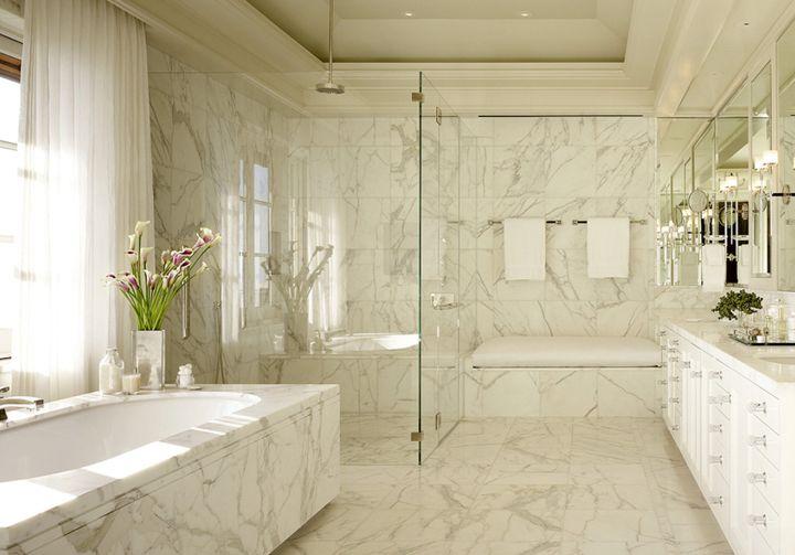 banheiro em mármore carrara http://oazulejista.blogspot.com.br/2014/05/como-utilizar-marmore-e-granito.html#axzz3273t3w1i