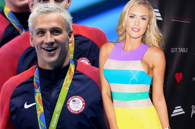 Ryan Lochte's Playboy girlfriend won't dump him over Rio lies