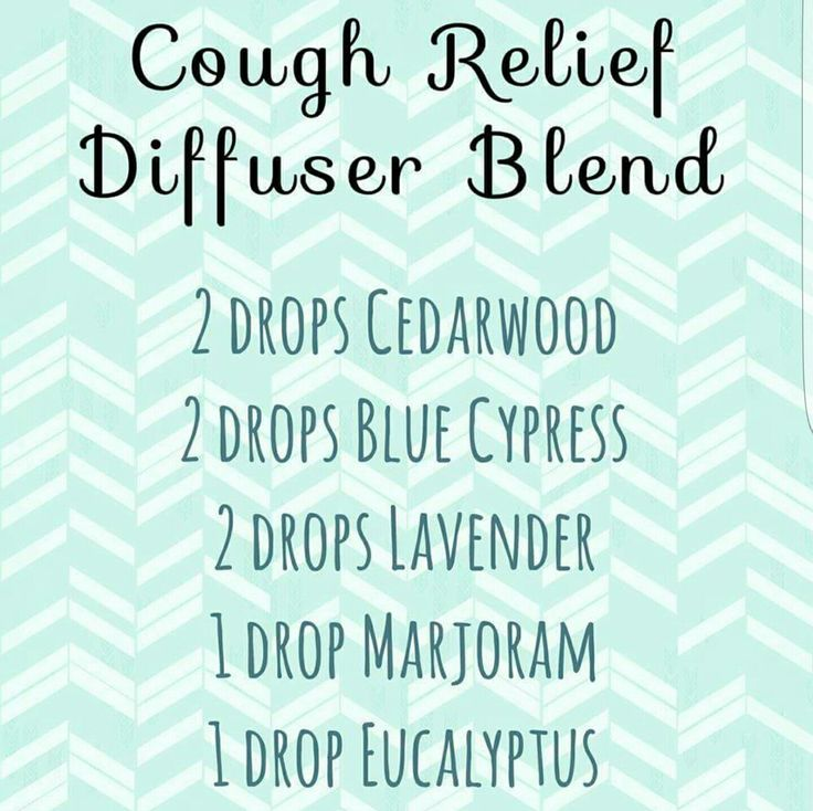 Cough relief diffuser blend: cedarwood,  blue cypress,  lavender,  marjoram,  eucalyptus essential oils