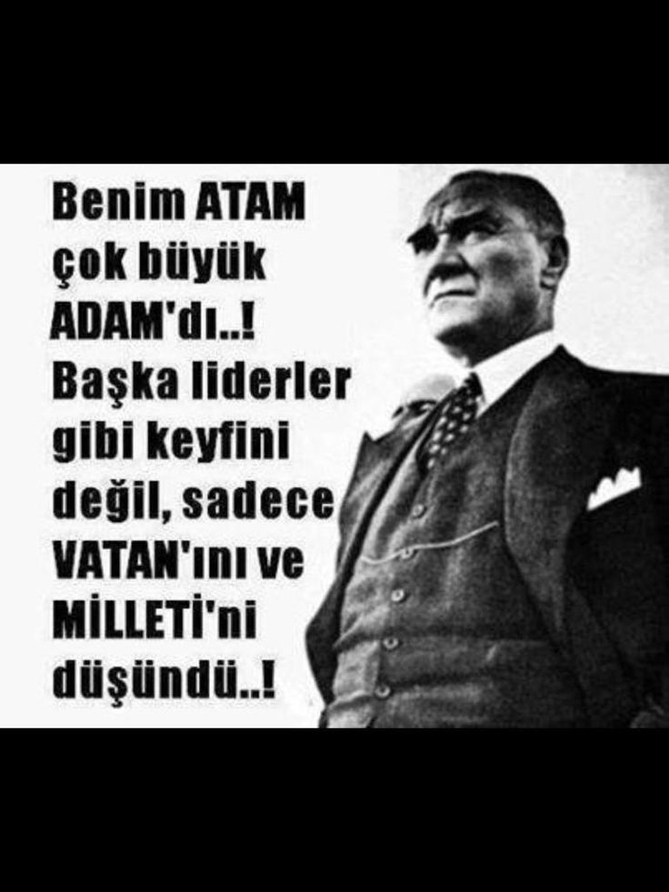 """@hbbayz: AtatürkünEnBüyükEseriCumhuriyet pic.twitter.com/OCXL3dmvX3"""