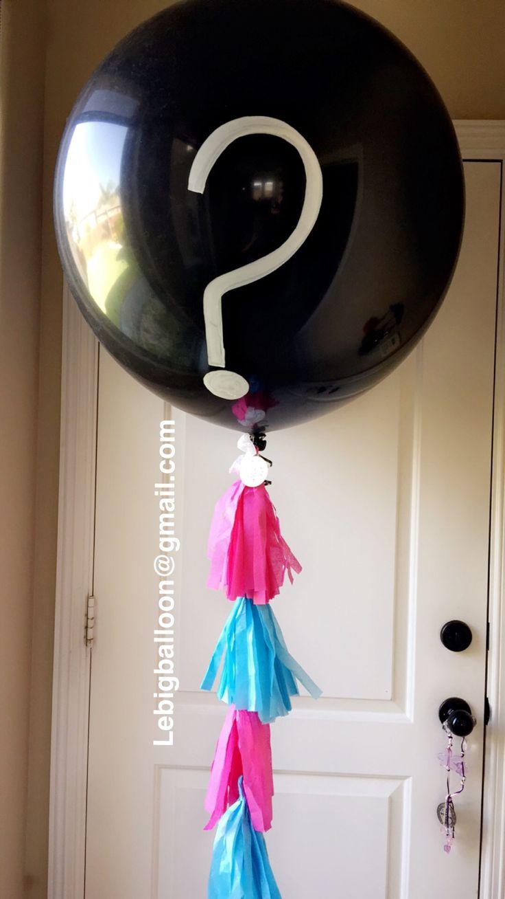 Gender Reveal Big Balloon Mcallen Texas and Rio Grande Valley. Info: lebigballoon@gmail.com