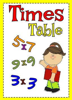 A complete resource pack for times table 1 to 12.It comprises:12 Pencil shaped times table (suitable for display or individual use)1 times table square1 blank times table12 times table practice12 times table challengeThis resource pack is suitable for all year group.