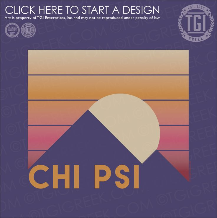 Chi Psi | XΨ | Summer PR | Fraternity PR | PR Shirt | TGI Greek | Greek Apparel | Custom Apparel | Fraternity Tee Shirts | Fraternity T-shirts | Custom T-Shirts