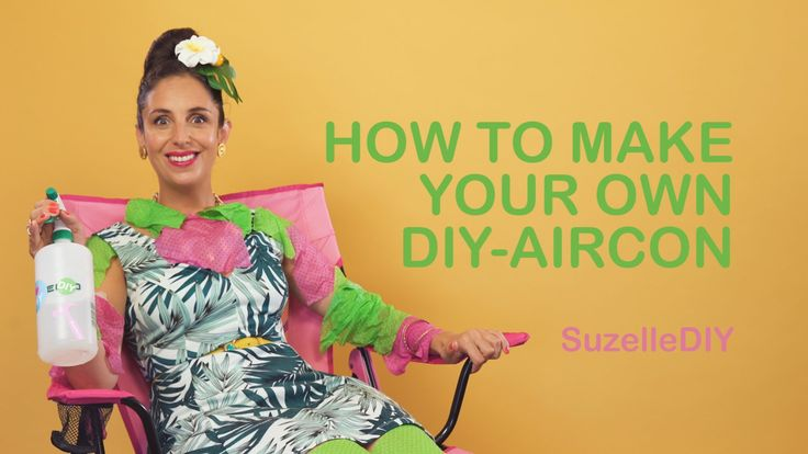 SuzelleDIY - How to Make a DIY Aircon