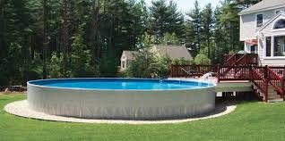 Image result for round swimming pool inground