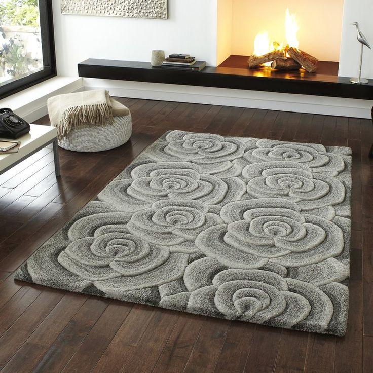 teppich wohnzimmer grau. die besten 25+ wollteppich grau ideen auf ... - Teppich Wohnzimmer Grau