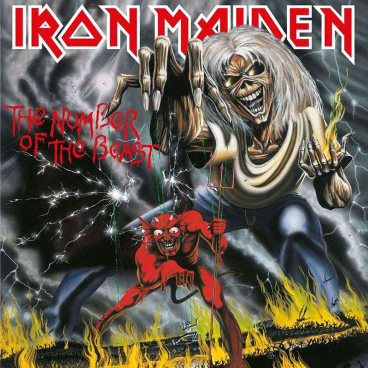 Iron Maiden The Number of the Beast on 180g LP Iron Maiden will follow-up the 2012/13 vinyl picture disc reissues of their groundbreaking first eight records, which spanned the 1980s, with brand new p