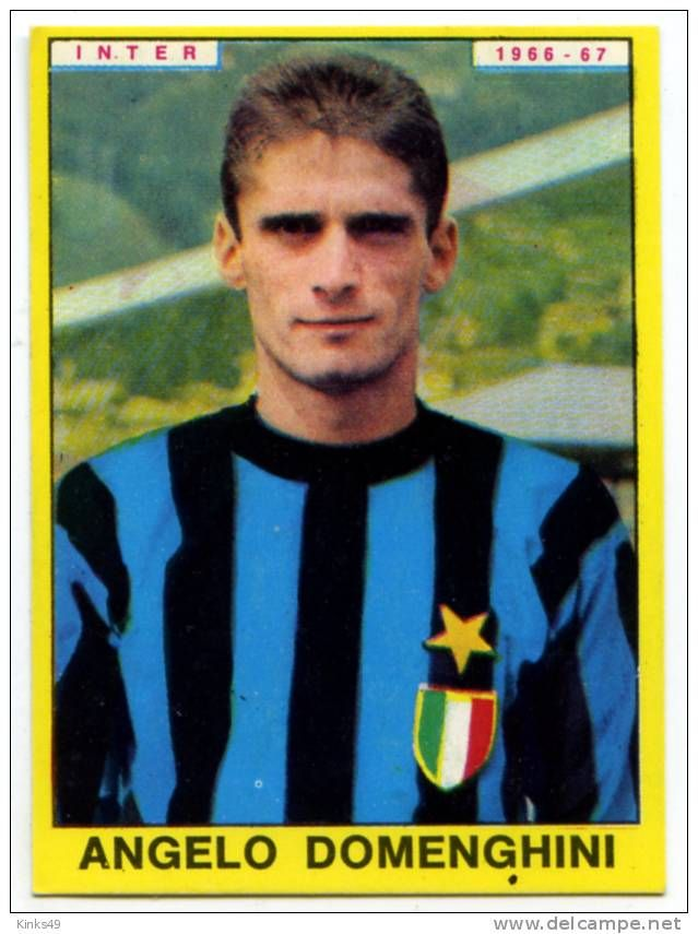 Calciatori panini - Angelo Domenghini- 1966/67