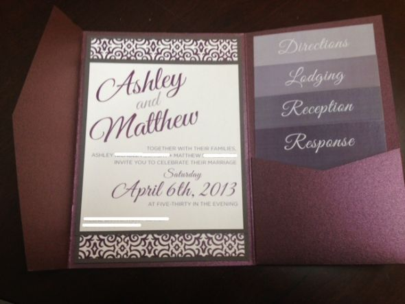 Invitation inspiration .... your dream invite? :  wedding invitation romantic rustic vintage whisical Photo 3