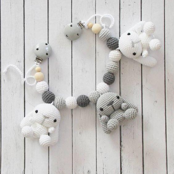 """118 Likes, 5 Comments - Tanja Greiff crochet studio (@madebytanya) on Instagram: """"En barnvagnsmobil på beställning är klar #madebytanya #amigurumi #barnvagnsmobil…"""""""