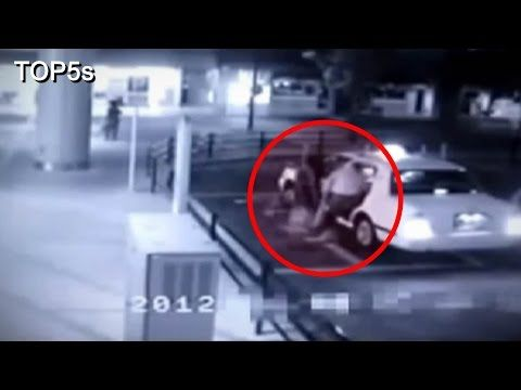 5 Terrifying & Convincing Videos of Ghosts Caught On CCTV Cameras - YouTube