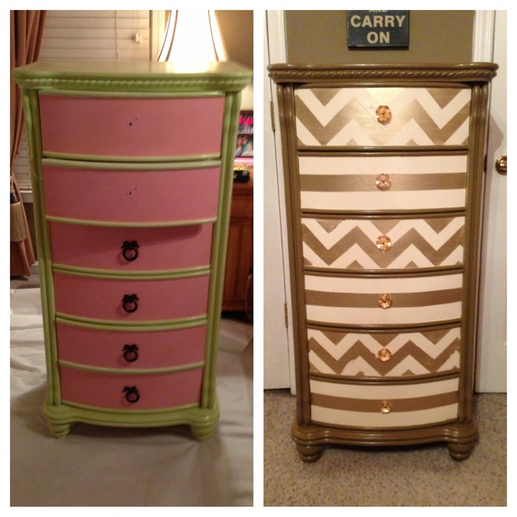 Diy Lingerie Chest Before After Dresser Makeovers